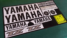 YAMAHA TZ250 RACE DECAL SET.