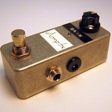 Amp-fx Micro Amp / Clean Boost + True Bypass MXR verbessert / Handmade in Berlin
