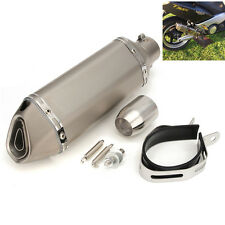 38-51MM Exhaust Muffler With Removable DB Killer For Dirt Street Bike Motorcycle