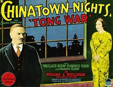"""Chinatown Nights"" (Tong War) - 1929 Wallace Beery Pre-Code Crime Drama! - Rare!"