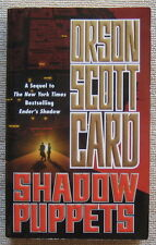 Shadow Puppets (Ender's Shadow #3) by Orson Scott Card PB 2nd Tor