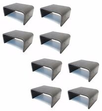 (8) 2x4 Steel Weld On STAKE POCKET BOARD HOLDER - Trailer Hauler Truck  6 Gauge