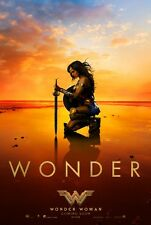 WONDER WOMAN EXCLUSIVE (2017) Original Authentic Movie Poster 27x40 - Gal Gadot