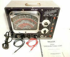 Tested & Working HICKOK 209A VACUUM TUBE TESTER * VOLT OHM CAPACITY MILLIAMMETER