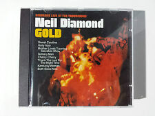 """NEIL DIAMOND """"GOLD"""" EXCLUSIVE & RARE SPANISH CD FROM """"ROCK"""" COLLECTION"""