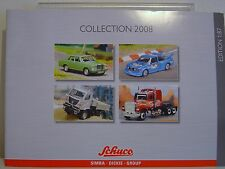 SCHUCO HO EDITION 1:87 COLLECTION, 2008 CATALOGUE