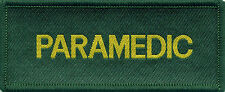 Paramedic Badge Patch 10cm x 4cm