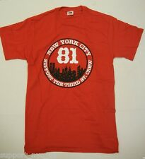 Support 81 Hells Angels NYC NEW YORK THIRD ST CREW T Shirt 2XL  NEW #006