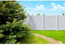 Veranda 6 ft. H x 6 ft. W White Vinyl Overland Privacy Fence Panel Kit