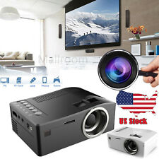 UC18 Mini HD 1080P LCD WIFI Projector Home Cinema PC VGA AV USB SD HDMI US Stock