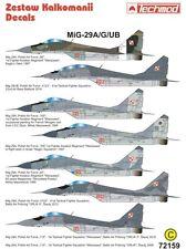 MiG 29 A/G/UB FULCRUM A/B (POLISH & ISRAELI MKGS) 1/48 TECHMOD