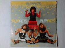 "PUPPETS Puppets / Old photographs 7"" RARISSIMO ITALO DISCO"