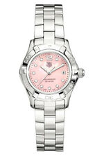 WAF141A.BA0813 Tag Heuer Ladies Aquaracer Swiss Quartz Pearl Diamond  Watch