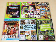 PC SPIELE SAMMLUNG WIMMELBILD BOX BEST OF EINFACH SPIELEN MYSTERY KRIMI GRUSEL