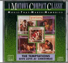 Temptations - Give Love At Christmas [CD]   MOTOWN