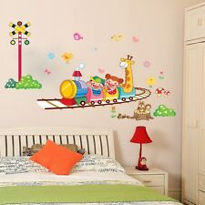 DIY Happy Train Removable Vinyl Wall Sticker Mural Room Decoration Decor Decal