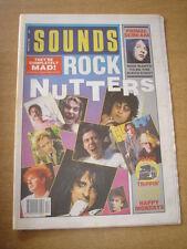SOUNDS 1990 MARCH 24 HAPPY MONDAYS JOHN LENNON ALICE COOPER PRIMAL SCREAM