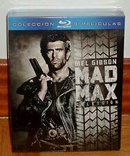 COLECCION MAD MAX-EDICION COLECCIONISTA-PACK 3 BLU-RAY-PRECINTADO-NUEVO-ACCION
