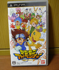 Used PSP Digimon Adventure import Japan ((FREE Shipping))、