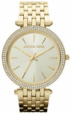 NEW MICHAEL KORS MK3191 LADIES GOLD DARCI WATCH - 2 YEAR WARRANTY