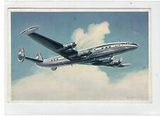 LOCKHEAD SUPER CONSTELLATION L 1049 G: KLM official postcard (C17450)