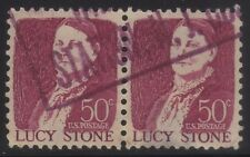 [JSC]1962 Great old American stamp USA 50c Lucy Stone x 2