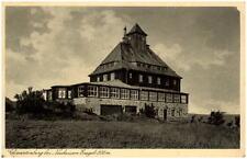 NEUHAUSEN Erzgebirge Sachsen 1933 Partie mit Schwartenberg Haus Verlag Landgraf