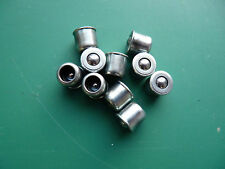 10 x 8mm PRESS FIT BUTTON OILERS OIL LUBE POINTS LUBRICATION NIPPLES LATHE MILL