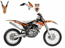 BLACKBIRD KTM SX 125 2013 2014 2015 KIT GRAFICHE ADESIVI DREAM 3 GRAPHICS NERE
