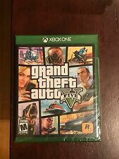 Grand Theft Auto V (5) (Microsoft Xbox One,1 2014) *New&Sealed* Unopened GTA V