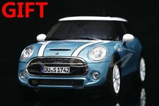 Car Model Norev Minicooper S Mini Cooper S 1:18 (Light Blue) + SMALL GIFT!!!!!