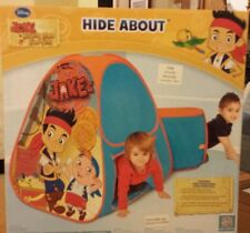 NEW DISNEY Jake Neverland HIDE ABOUT POPUP TENT & TUNNEL - Playhut - EZ Twist (2