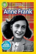 National Geographic Readers: Anne Frank by Alexandra Zapruder c2013 NEW PB