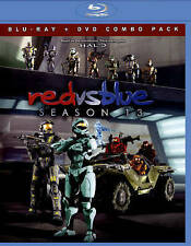 Red vs. Blue: Season 13 (Blu-ray Disc, 2015, 2-Disc Set)
