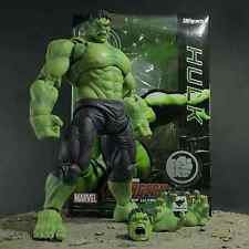 "MARVEL/FIGURA HULK ARTICULADA 22 CM- ACTION FIGURE THE AVENGERS 8,7"" IN BOX"