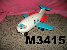Vintage Fisher Price Little People #996 AIRPLANE JET