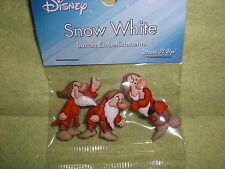 Disney GRUMPY from SNOW WHITE Theme Button Embellishments/Dress It  Up/ Crafts