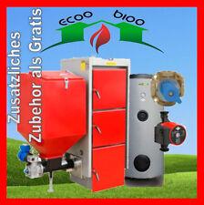 Kessel Pelletskessel 50 kw plus Hygienespeicher 220 L Pellet Holz Kohle