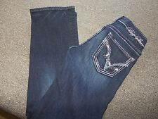 BIG STAR Jeans Sweet Boot 25 R X 30 1/2  Ultra Low Rise Stretch