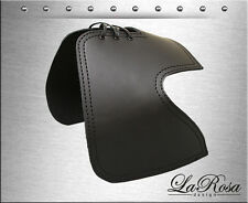La Rosa Black Leather Harley Sportster 883 48 72 Heat Deflector Saddle Shield
