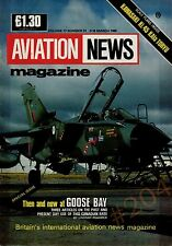 KAWASAKIKi.45 KAla TORYU Scale Plan Drawings  GOOSE BAY Aviation News March 1989