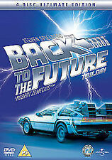 Back To The Future Trilogy (DVD, 2008, 4-Disc Set, Box Set)