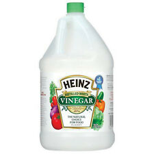 Vinegar Distilled White The Natural Choice For Food Heinz Kosher 1 Gal