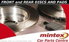 FOR PEUGEOT 206 2.0 GTI 136Bhp + HDI FRONT REAR BRAKE PADS SET DISC DISCS MINTEX