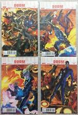 Ultimate Doom #1 - #4 complete series (2010 Marvel) FN - NM condition