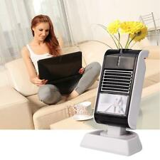 Portable Mini Electric Desktop Space Heater Fan Office Home Winter Air Warmer