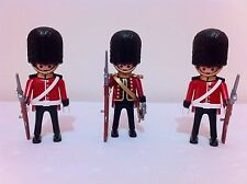 playmobil 4577 royal guards X3 figures rare lot custom toys play bid Sealed New