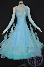 BALLROOM DRESS STANDARD COMPETITION MODERN WALTZ DANCE DRESS SIZE S, M, L 2716