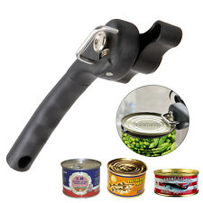 Professional Manual Can Opener Smooth Edge Side Cut Tin Jar Bottle Kitchen