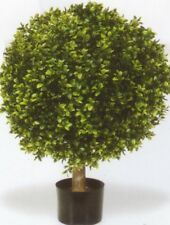 "32"" Outdoor Artificial Boxwood Topiary Bush Ball Plant Tree Pot Pool Patio 2' 8"""